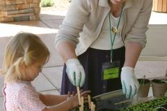 2009 Children's Gardening Workshop hosted by Eve Von Deck